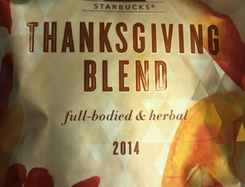 Thanksgiving Blend – Here We Go Again!