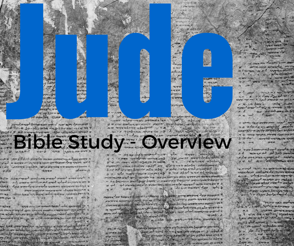 Bible Study Notes for the Book of Jude - Ox Brook