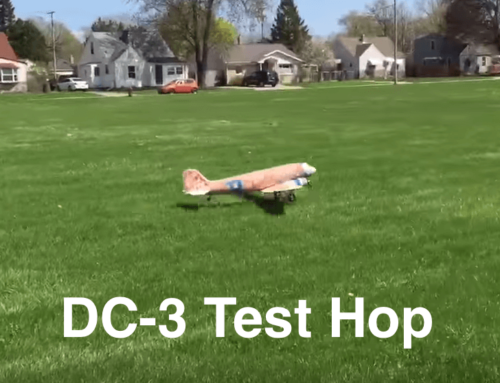 Successful DC-3 Test Hop Finally Takes Place!