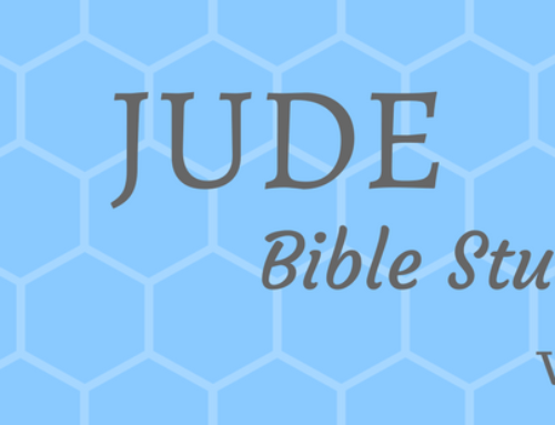 Jude v10-24 Personal Bible Study