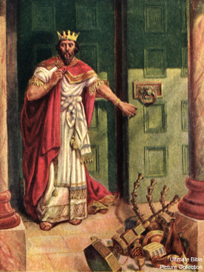 King Ahaz Closes God's Temple