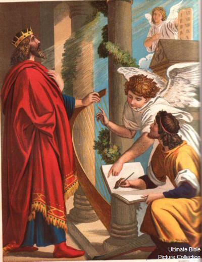 David Write Psalms