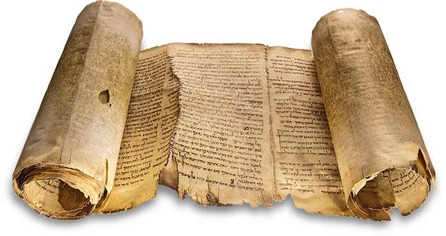 Ancient Isaiah Scroll