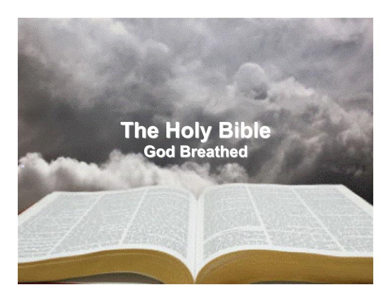 God Breathed Scripture