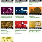 Starebucks Seasonal Blends | MikesZone