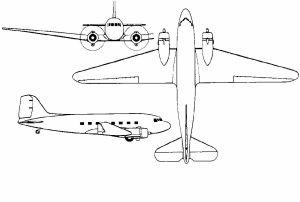 3 Views DC-3