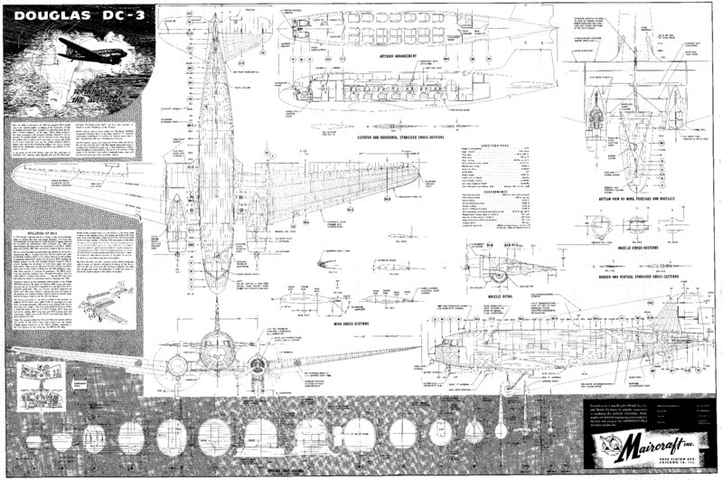 on dc 3 aircraft wiring diagram